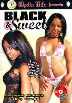 "Adult entertainment movie ""Black And Sweet"" starring Kim Pleasures, Kianna Jayde & Hypnotiq. Produced by Ghetto Life."