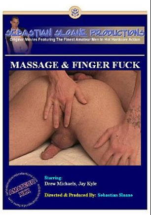Massage And Finger Fuck, starring Drew Michaels and Jay Kyle, produced by Sebastian's Studios.
