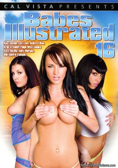 "Adult entertainment movie ""Babes Illustrated 16"" starring Valerie Vasquez, Roxy DeVille & Alektra Blue. Produced by Metro Media Entertainment."