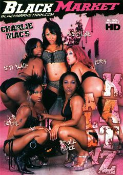 "Adult entertainment movie ""Ally Katz"" starring Misti Love, Skyy Black & Pinky. Produced by Black Market Entertainment."