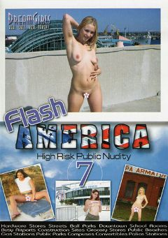 "Adult entertainment movie ""Flash America 7"". Produced by Dream Girls."