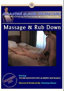 Massage And Rub Down, starring Tyler Ridgestone and Drew Michaels, produced by Sebastian's Studios.