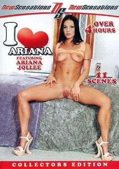 "Adult entertainment movie ""I Love Ariana Part 2"" starring Ariana Jollee, Shane Diesel & Alex Rox. Produced by New Sensations."