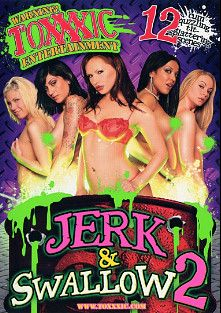 Jerk And Swallow 2, starring Kayden Faye, Maya Gates, Katja Kassin, Pike Nelson, Rachel Roxx, Alan Stafford, Rachel Starr, Kira Croft, Kimberly Kole, Richelle Ryan, Danielle Derek, Aubrey Addams, Barry Scott, Amber Rayne, Jay Huntington, Jenner, Ailine, Gianna Lynn, Trent Soluri, Jay Lassiter, Marco Banderas, Aline, Ben English and Van Damage, produced by Metro Media Entertainment and Toxxxic Entertainment.