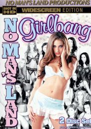 "Featured Star - Jenna Haze presents the adult entertainment movie ""No Man's Land Girlbang""."