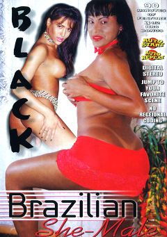 "Adult entertainment movie ""Black Brazilian She-Male"". Produced by Sunshine Entertainment."