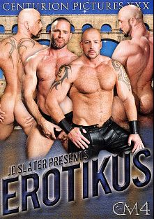 Centurion Muscle 4:  Erotikus, starring Jake Deckard, Huessein, Eric Hunter, Shane Alexander, Brendan Davies, Brock Hatcher, Hank Dutch, Trey Casteel and Xerxes, produced by Centurion Pictures XXX, Falcon Studios Group and Raging Stallion Studios.