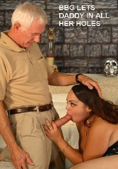 "Adult entertainment movie ""BBG Lets Daddy In All Her Holes"" starring Maranda & Carl Hubay. Produced by Hot Clits Video."