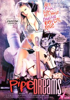 "Adult entertainment movie ""Pipe Dreams"" starring Janine Lindemuller, Sofia Sandobar & Kayla Paige. Produced by Vivid Entertainment."
