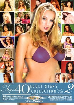 "Adult entertainment movie ""Top 40 Adult Stars Collection 2 Part 2"" starring Stormy Daniels, Amy Ried & Kirsten Price. Produced by Metro Media Entertainment."