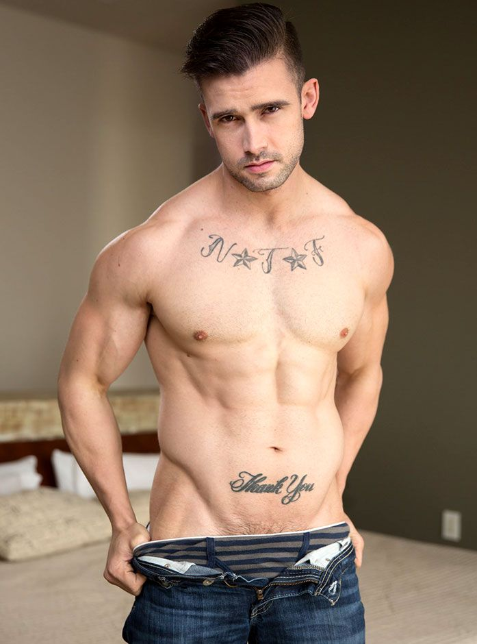 AEBN featured VOD adult star, Mathias (Active Duty)