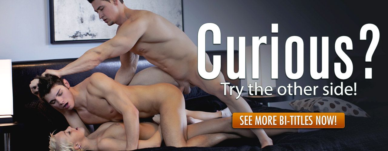 Curious? We have you covered! Check out one of the largest collection of Bi movies anywhere!