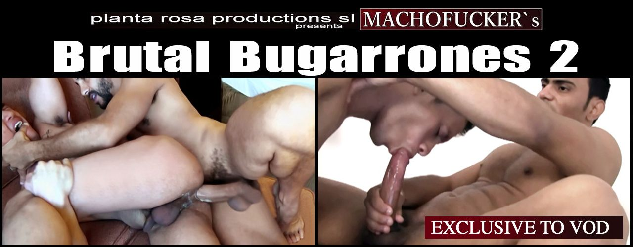 The Bugarrone's are on the loose again, hunting down the willing submissive gay-boys that love being pounded out! Watch Brutal Bugarrones 2 now!
