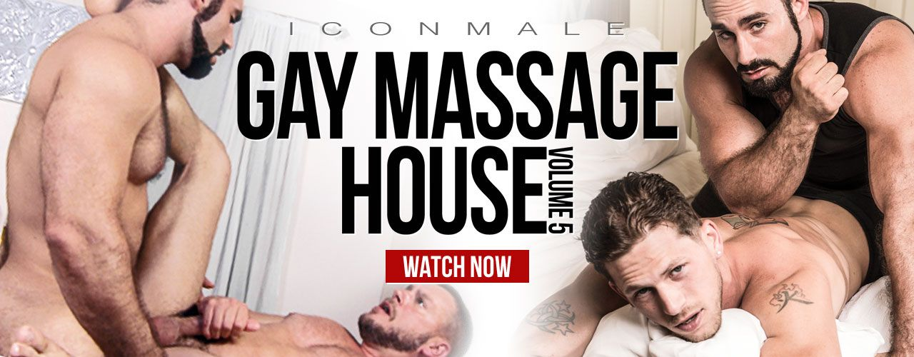 Icon Male brings you the next installment to the hit series, Gay Massage House Volume 5! Check it out now!