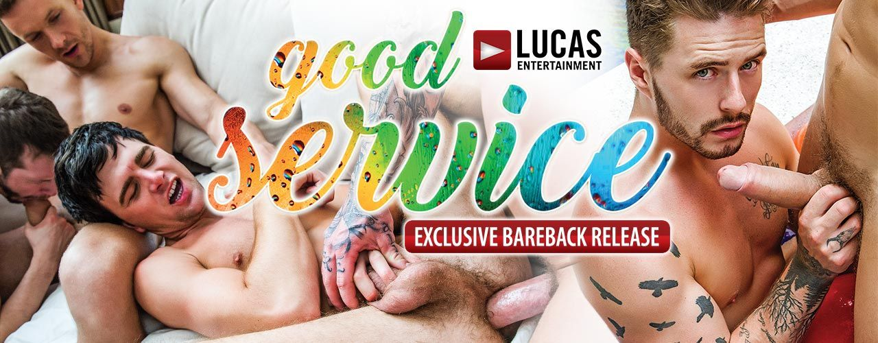 "When the Lucas Men are working away as blue-collar guys, they'll always go the extra mile to provide you with ""Good Service."" Check out Good Service now!"