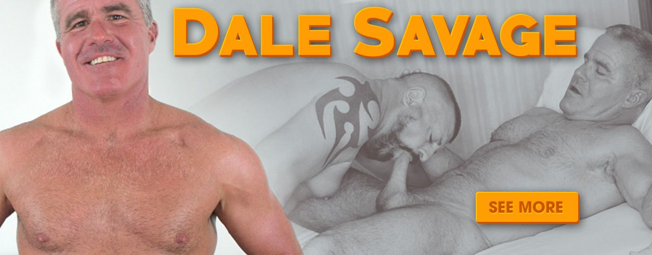 Silver daddy Dale Savage is a retired fireman who got into porn in 2018. Check him out now!