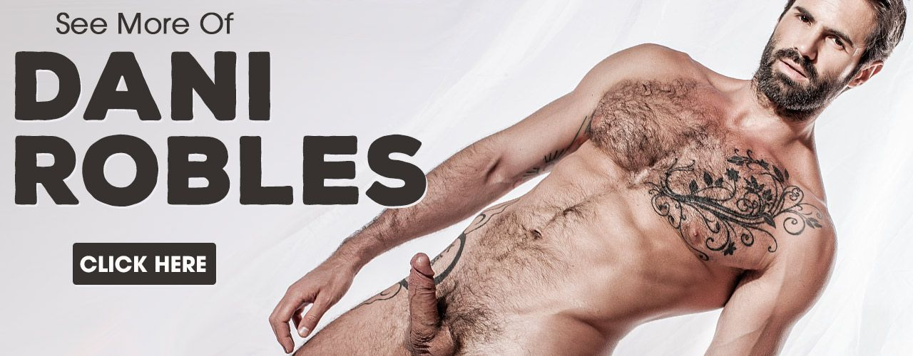 Dani Robles is handsome and manly! Check him out now!