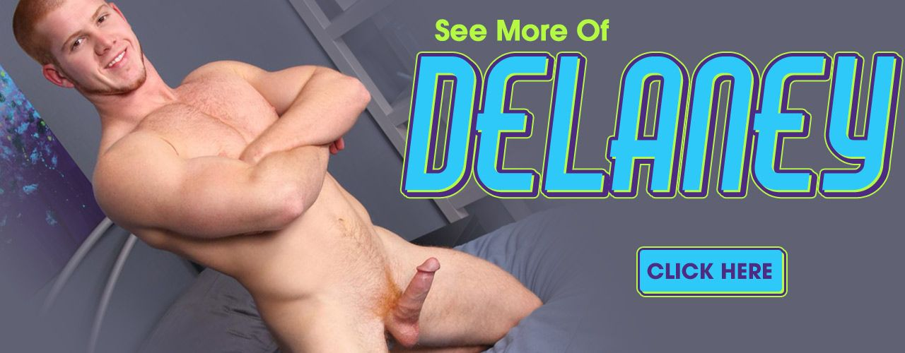 Muscle stud Delaney is a red head that will light up your world! Check him out here!