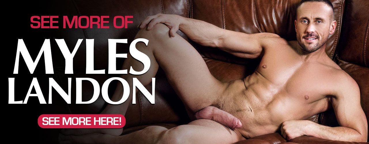 "Miles Landon is a 5'10"" daddy who's a top who always makes us wish we could be in the place of those lucky twinks who take his mouth-watering 8"" cock."