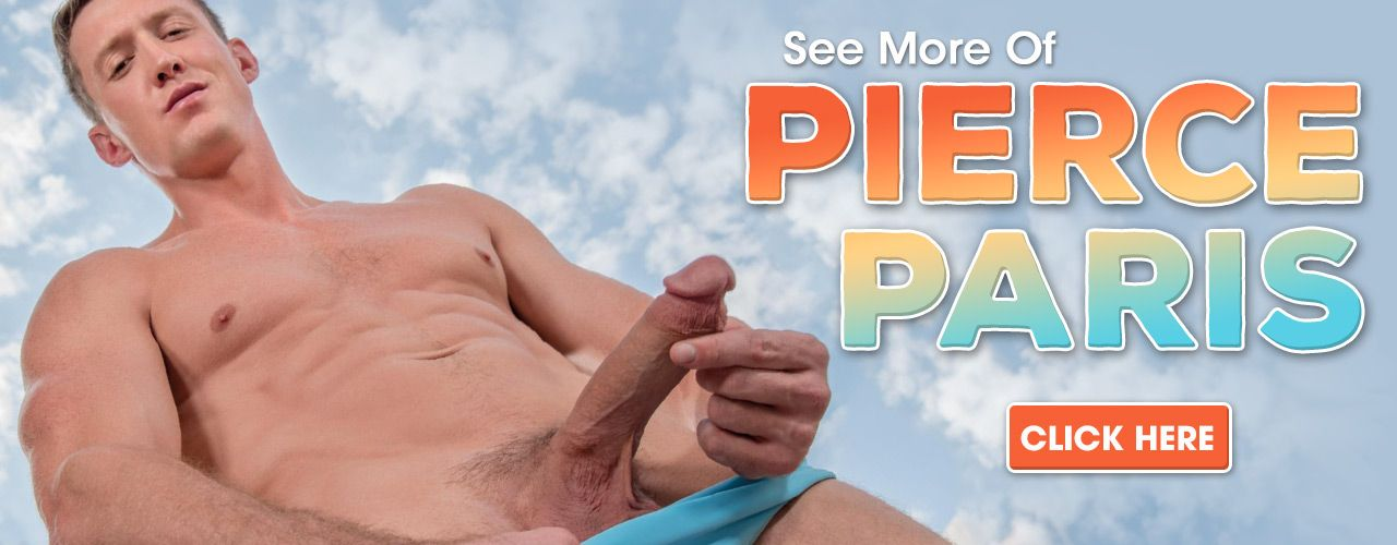 Ripped and hung Pierce Paris is a 10 out of 10 star! Check out his movies here!