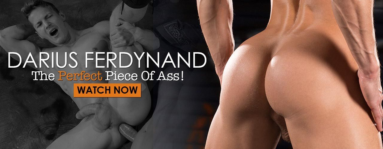 Don't miss the latest scenes of Darius Ferdynands bubble ass in action!