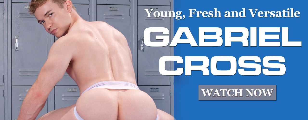Smooth, muscular and boyishly handsome Gabriel Cross is a star you do not want to miss! Check out his movies here!