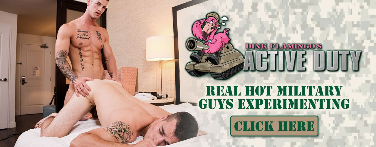 Active Duty brings you real hot military guys experimenting in the best way possible, Watch Now!