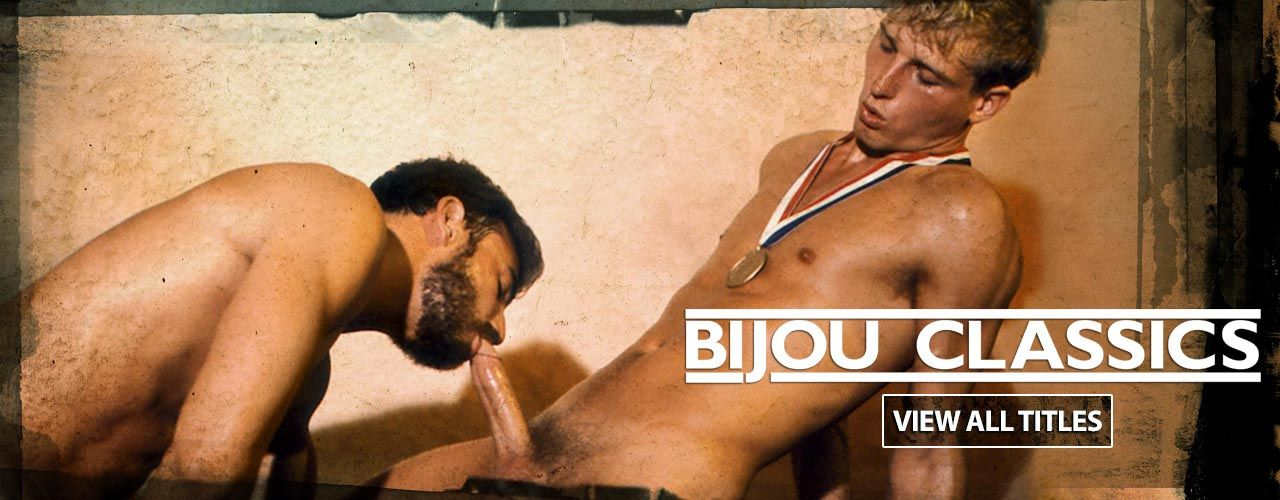 Bijou specializes in quality pre-condom gay videos, made before the term barebacking existed! These classics are always hot and never out of style!