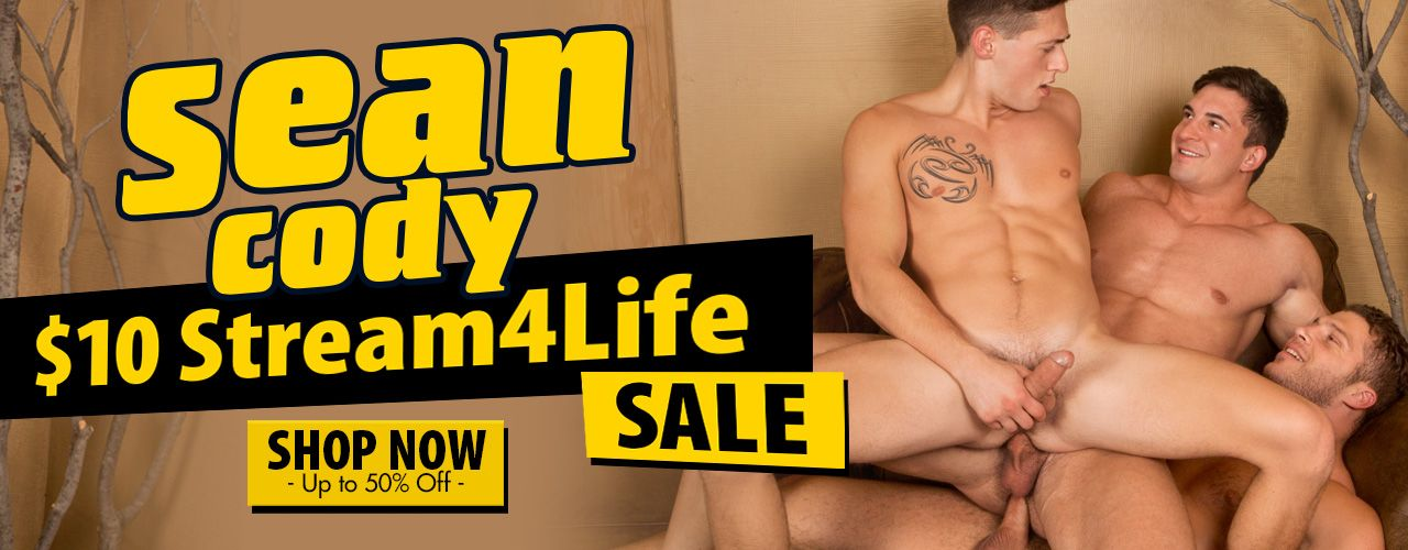 10$ Stream 4 life SALE on Sean Cody movies! Don't miss out on these savings!