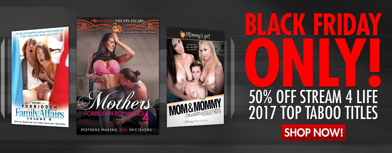 Enjoy our top 100 Taboo titles on sale during our Black Friday sale!
