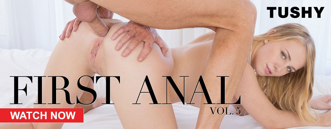 Multiple AVN Award winning studio TUSHY is proud to present the fifth installment of its cornerstone series, First Anal Vol. 5. Watch it now!