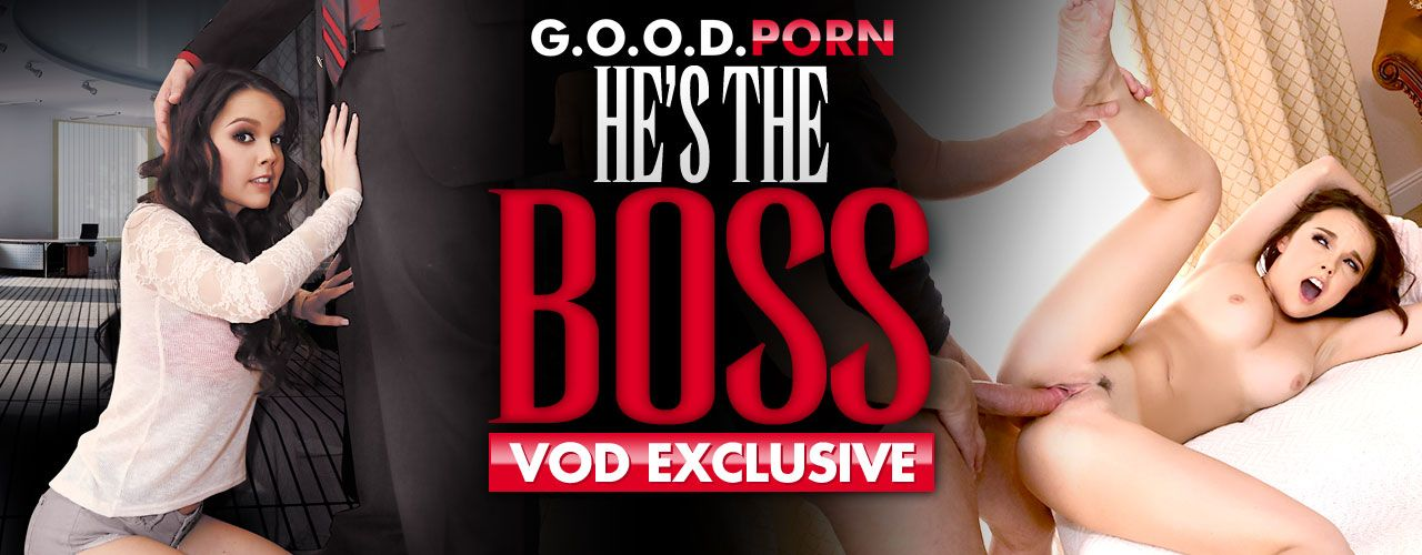 Dillion, Miko, Destiny, and Danira are willing to please the boss at all costs! Check out VOD exclusive He's The Boss now!
