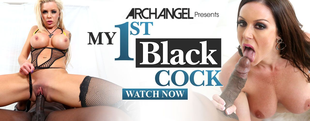 Archangel presents four of porn's hottest stars in their first interracial scenes in this hit movies My 1st Black Cock! Watch it now!