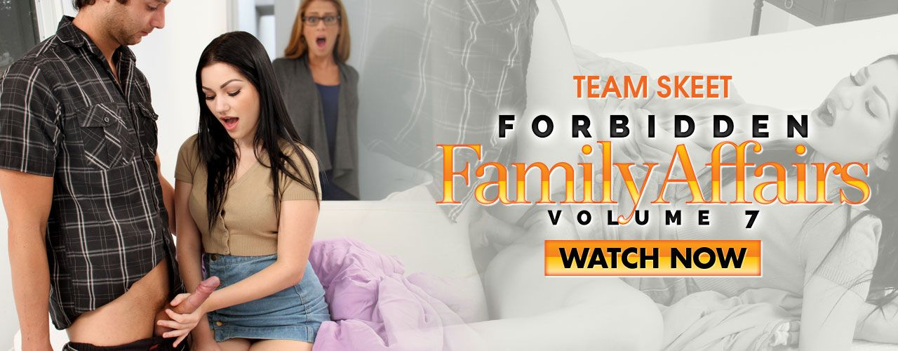 Team Skeet presents the next installment to the hit series Forbidden Family Affairs! Volume 7 is packed with wonderfully taboo scenes! Watch it now!
