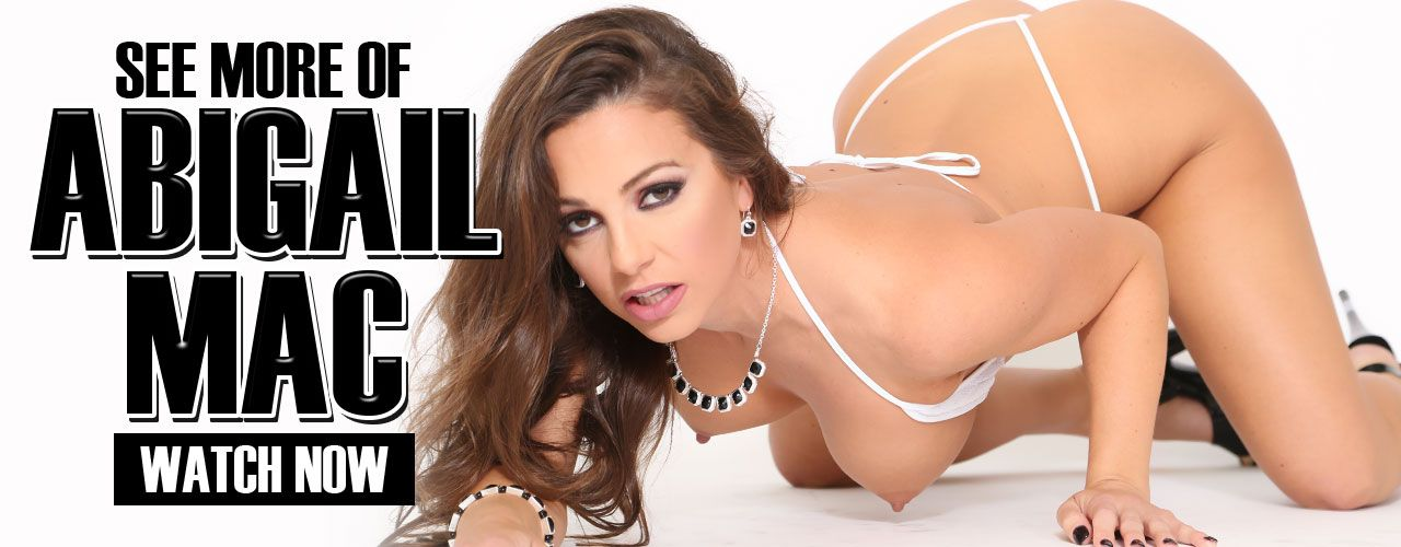 Busty brunette Abigail Mac is what we like to call fun-size, standing just 5'2