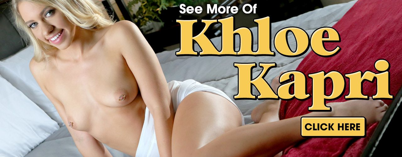 Check out sexy blonde star Khloe Kapri!