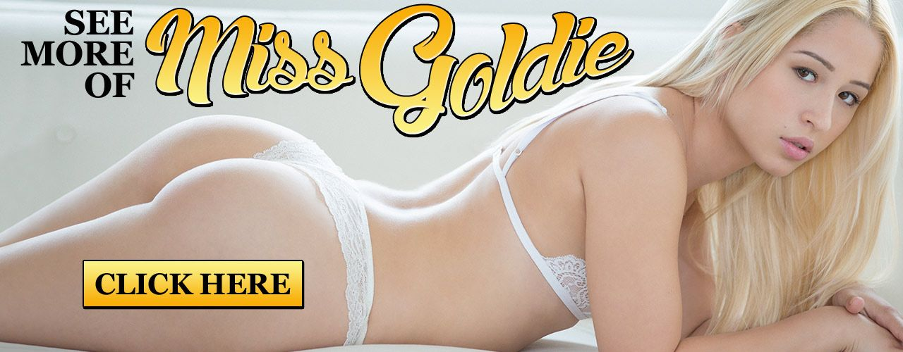 Born in Hollywood, Miss Goldie was made to be in the spotlight. Her natural 34A-25-35 body stands just 5'2
