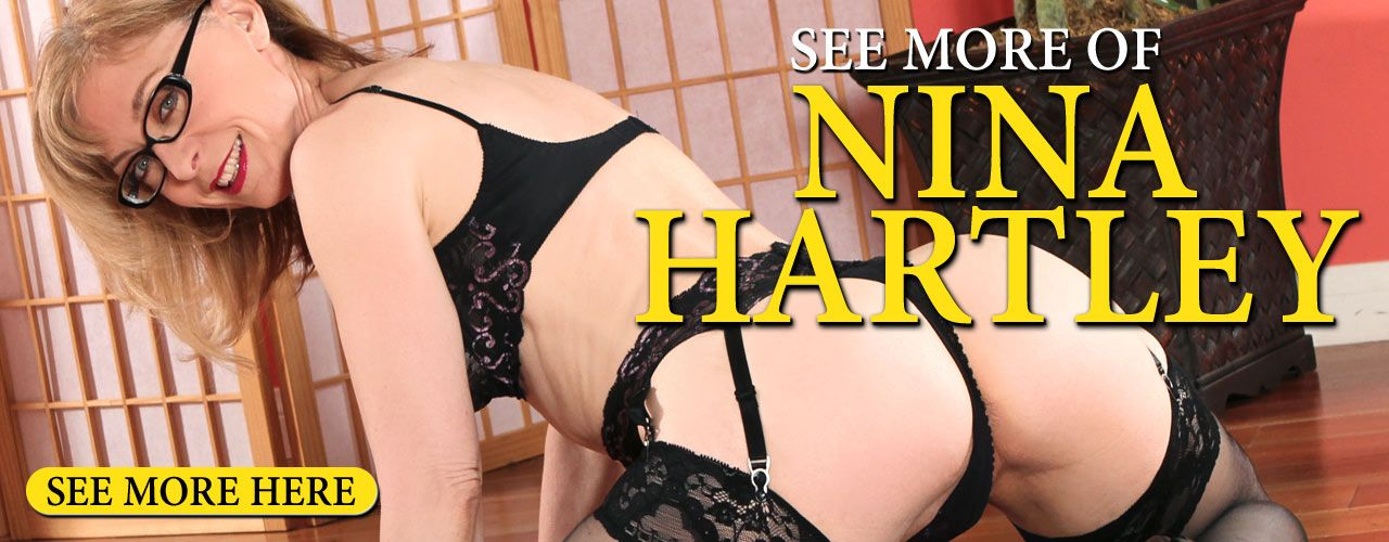 One of the most recognized people in the industry, Nina Hartley has been in more than 600 adult titles!
