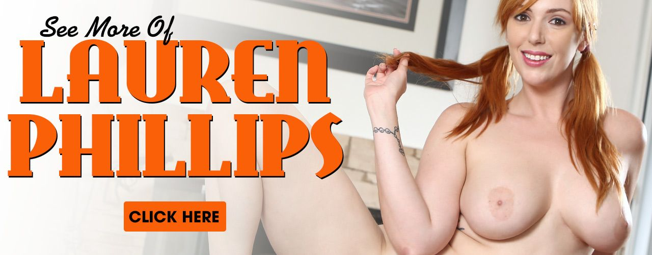 Lauren Phillips is a beautifully curvy hottie that will drive all the red head lovers crazy! Check her out here!