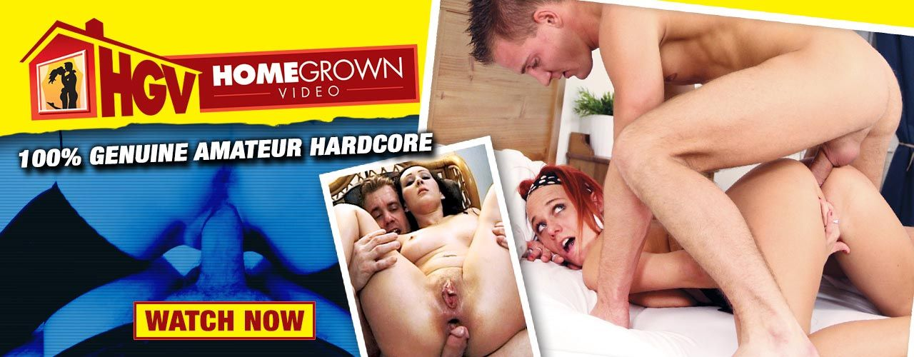 Home Grown Video brings you 100% genuine amateur hardcore porn! Check them out here!