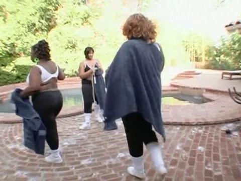 Big Fat Black orgie ébène lesbienne sexe histoire