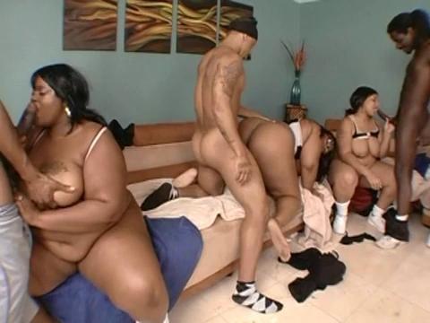 orgy freaks Fat black