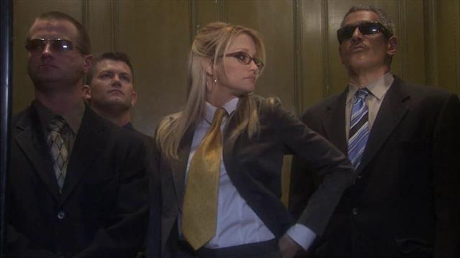 Bad Blonde in the Office Elevator, starring Jessica Drake, Chris Cannon, Eric Masterson and Herschel Savage, produced by Wicked Pictures. Video Categories: Blondes, GangBang, Big Tits and Blowjob.