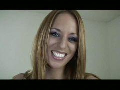 Blonde redhead blows n toes #8