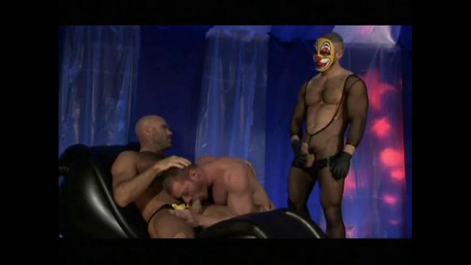 The Carnival of Flesh Has Many Rooms, starring Francois Sagat, Eduardo Dubov and Ethan Anders, produced by Titan Media. Video Categories: Muscles, Threeway, Blowjob and Fetish.