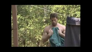 Dean Flynn Stranded Naked in the Woods.