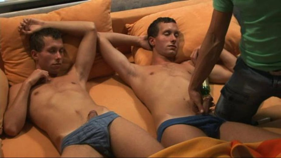 Always Czech Your Mirror For the Richter Twins, starring Bjorn Gedda, Adam Richter and Konrad Richter, produced by William Higgins. Video Categories: Blowjob, Uncut, Threeway, Masturbation, College Guys and Euro.