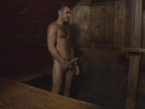 Uncut cock sex club scene two