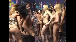 Transsexual Party Heats Up When Guys Arrive.