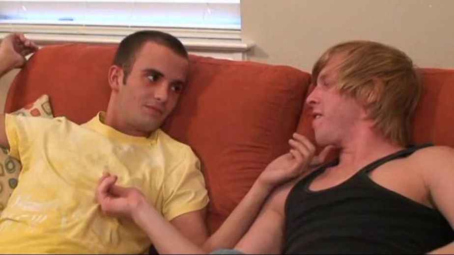 Two Twinks Stayed Behind at the Hotel, starring MJ Taylor and Aiden Tyler, produced by Prodigy Pictures and Dirty Bird Pictures. Video Categories: College Guys and Blowjob.